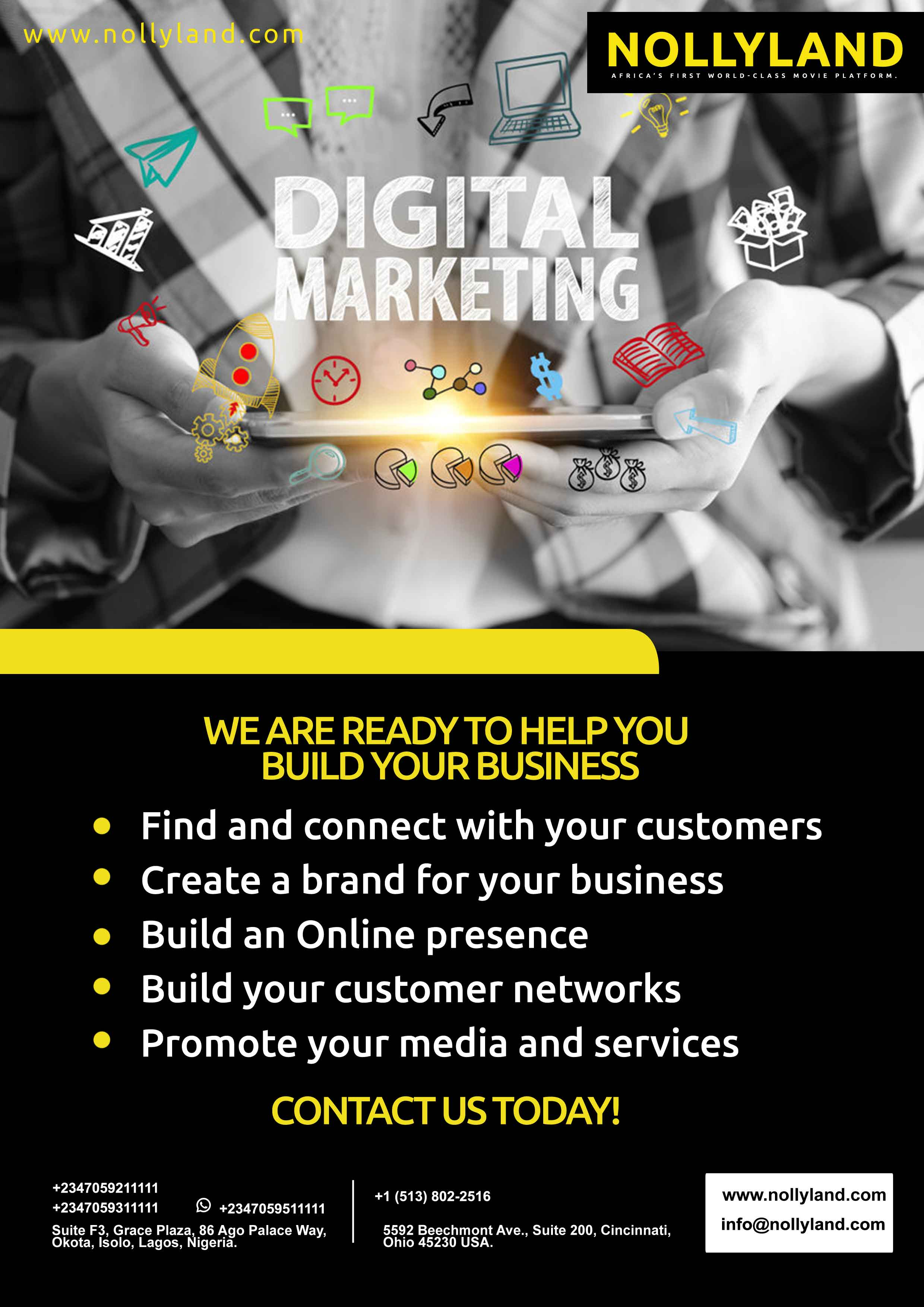 NollyLand Digital Marketing