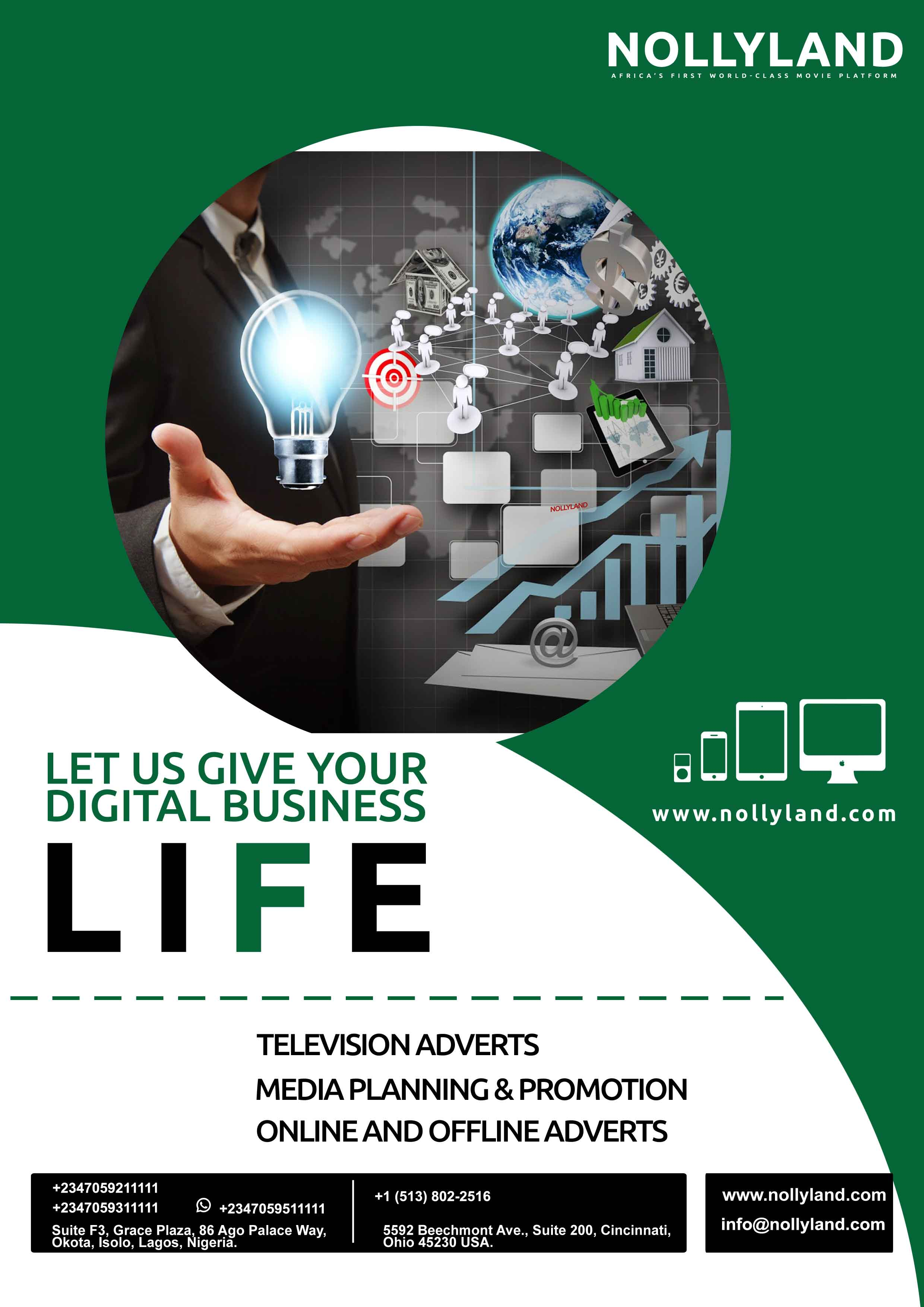 NollyLand Life TV Media